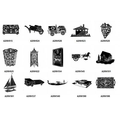 Modelli su carta serie N