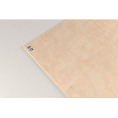 Birch plywood mm.3 cm. 40x30