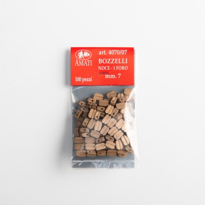 Walnut simple blocks mm.7