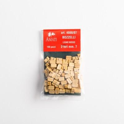 Bloques de madera de buey...