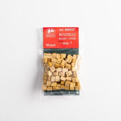 Boxwood blocks mm.7-3 holes