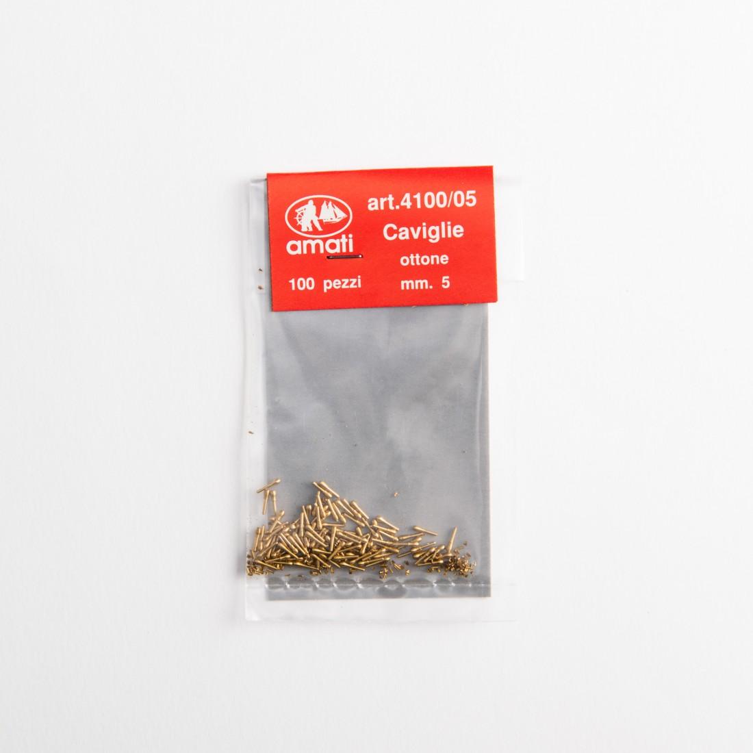 Cabillots laiton mm.5