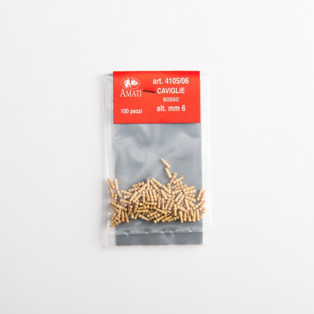 Clavijas de sujeción de boj mm.6