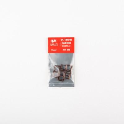 Cornici sabordi mm.8x8