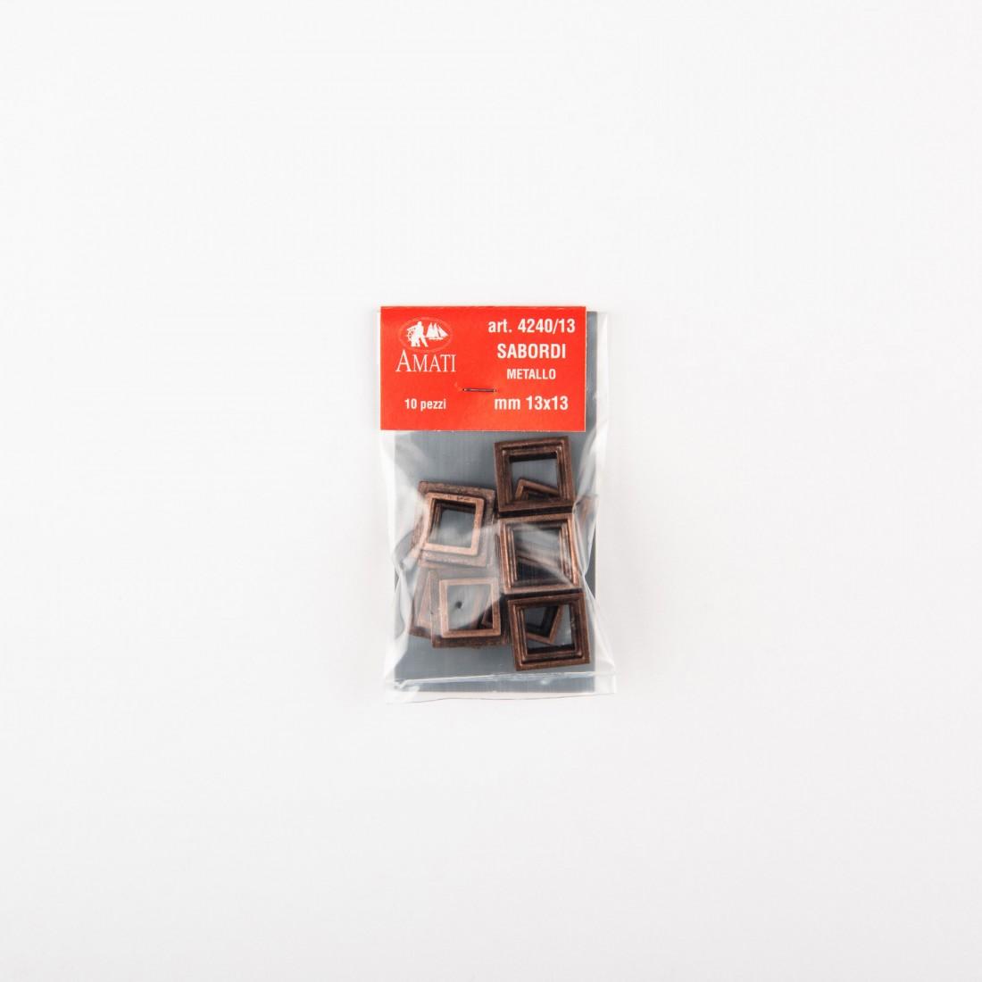 Cornici sabordi mm.13x13