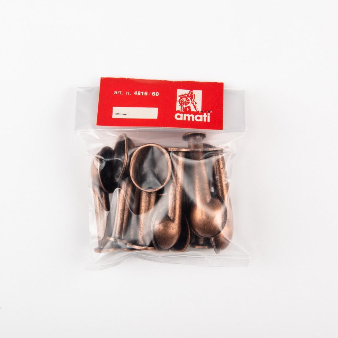 Metal ventilators mm.60