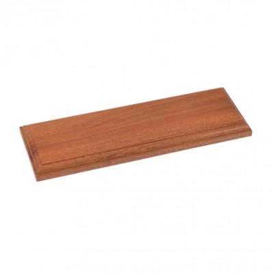 Socles en bois vernis...