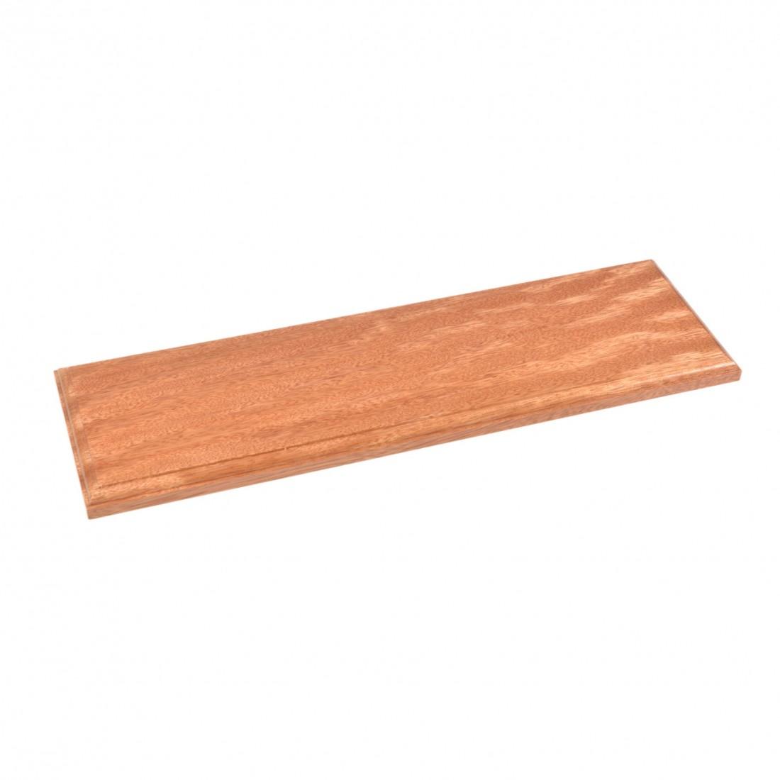 Socles en bois vernis  50x15x2 cm