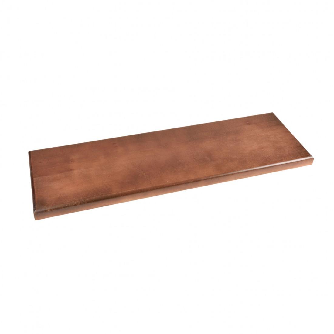 Socles en bois vernis  80x25x3 cm
