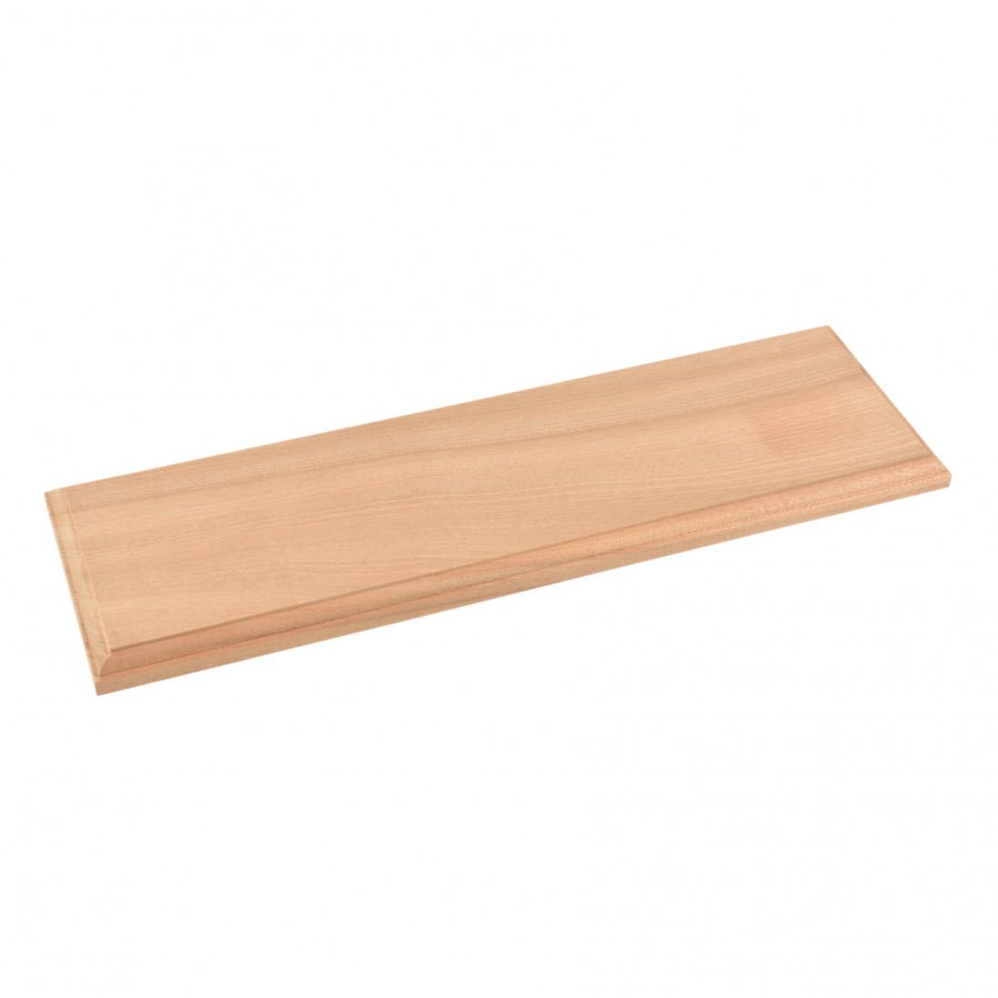 Basamenti legno naturale cm.50x15x2
