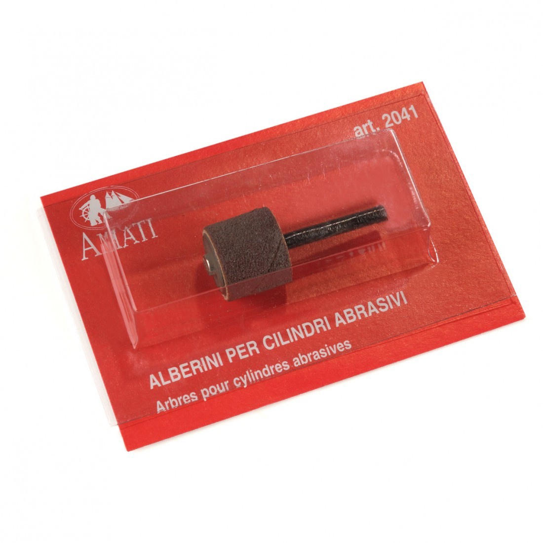 Alberini per Cilindri Abrasivi Ø gambo mm. 2,3
