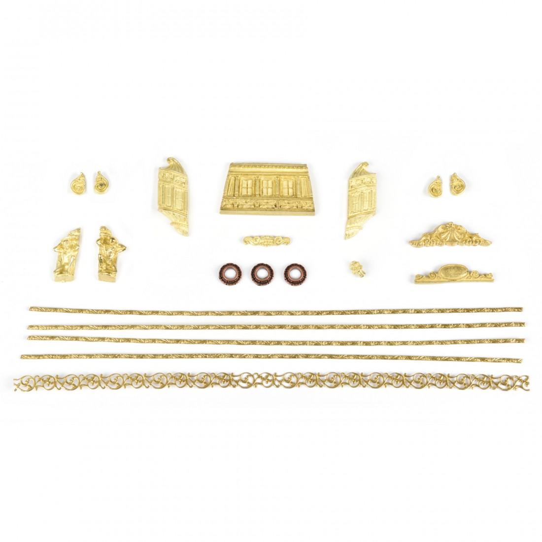 Venetian Polacca accessories set