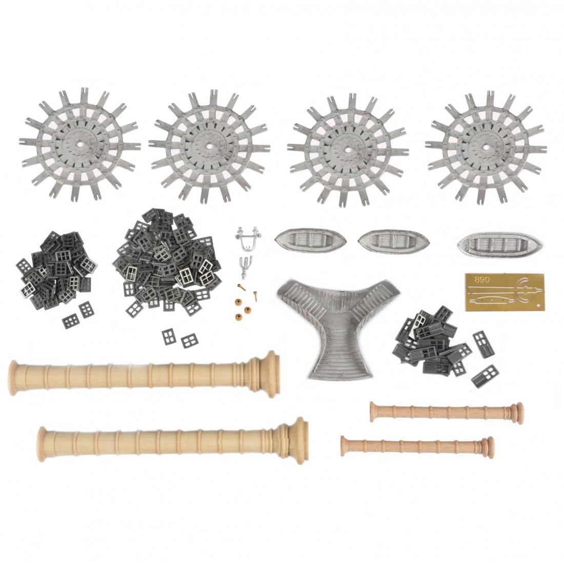 Robert E. Lee accesorios y chimeneas.