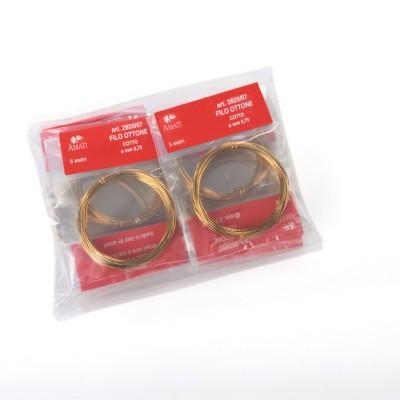 Brass wire mm.0,75