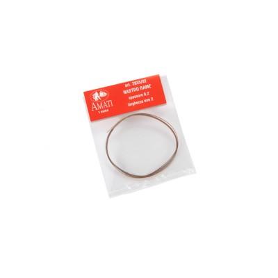 Copper strap mm.2,00