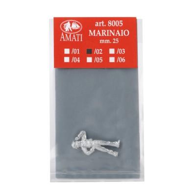 Marineros de metal mm.25