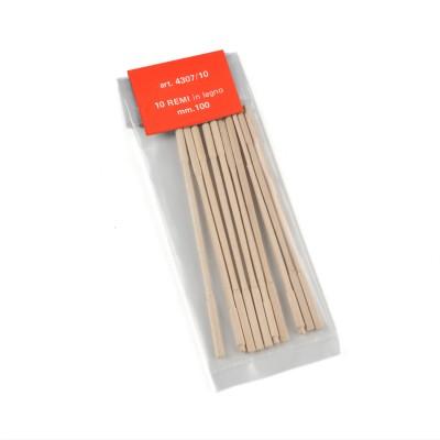 Longitud de remos de madera...