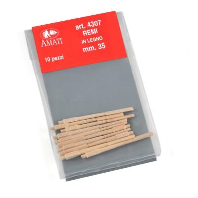 Remi legno mm.35