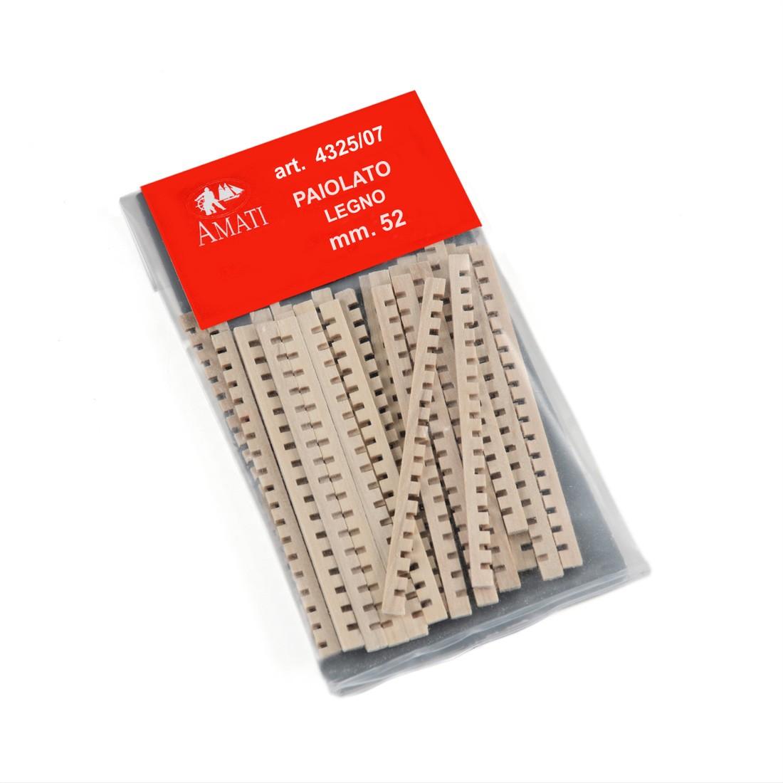 Paiolato in legno mm.52 (30 pz)