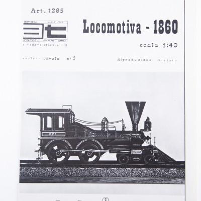 Plan de locomotora
