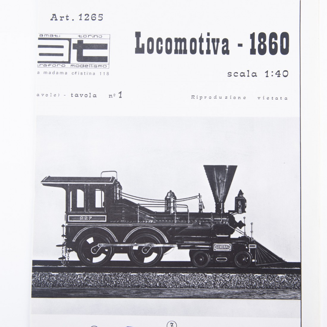 Locomotive Plan