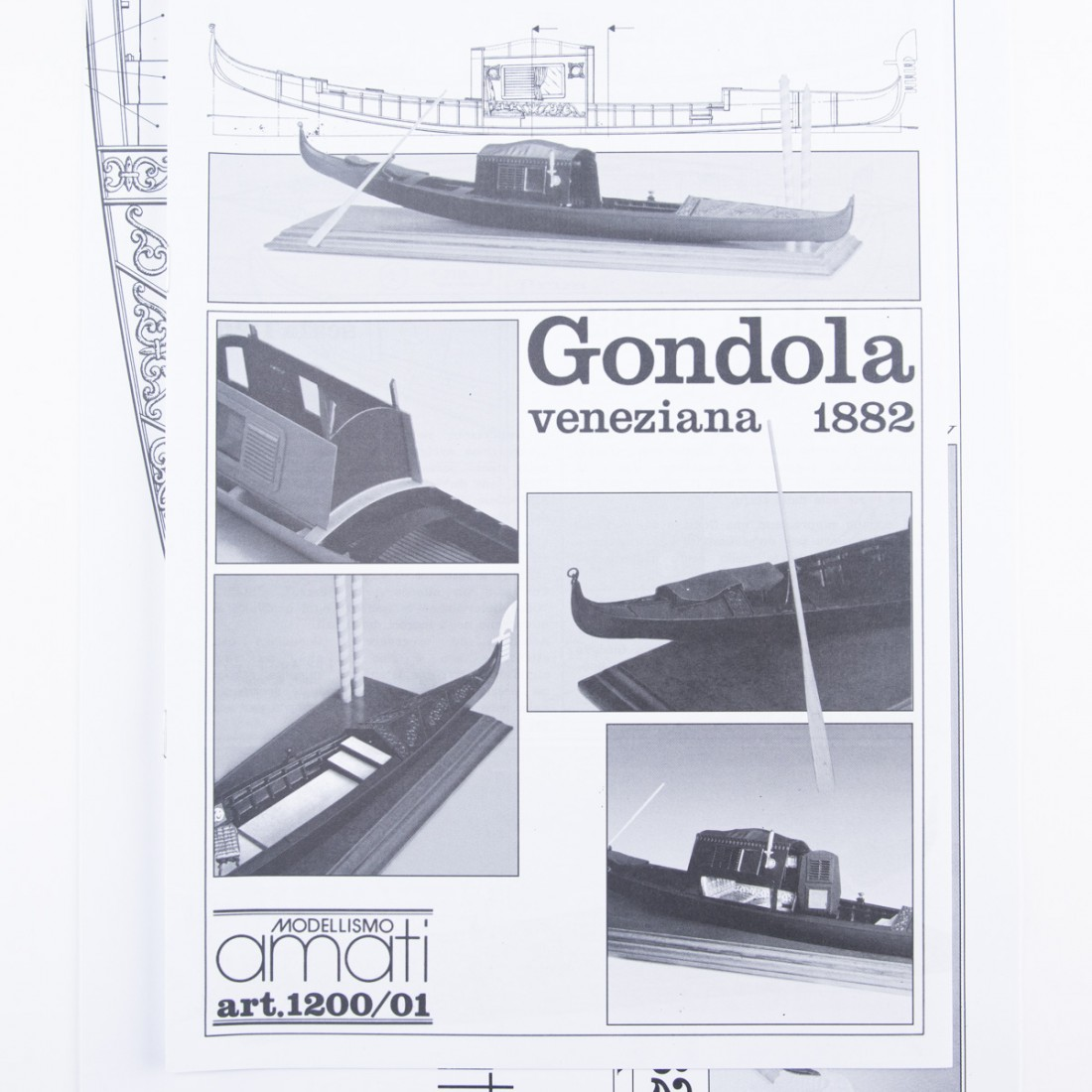 Plan de la góndola veneciana