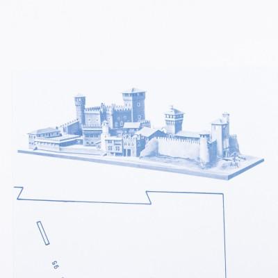 Plan medieval del castillo