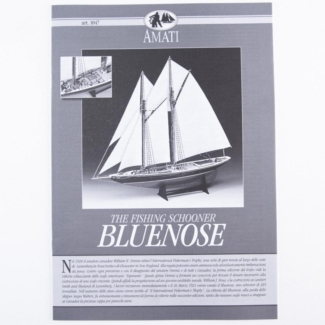 Piano costruzione Bluenose