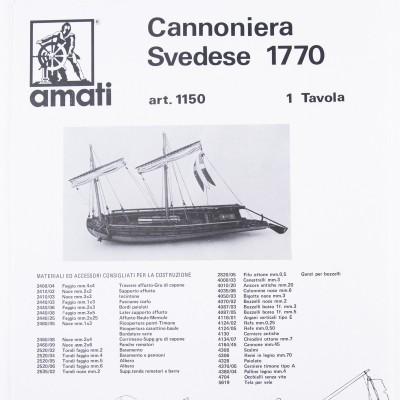 Plan Cannonière Suedoise