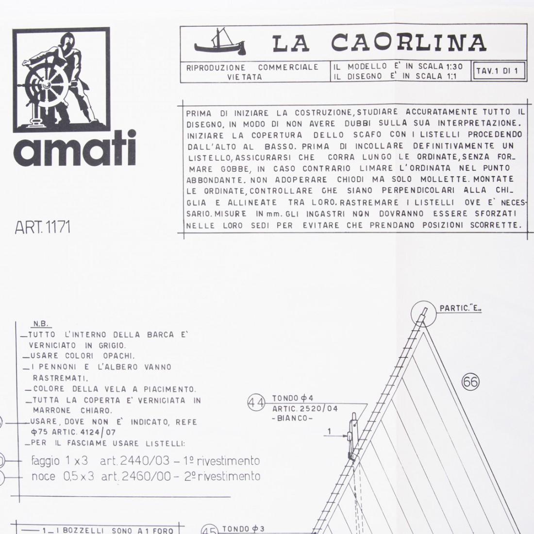 Piano costruzione Caorlina