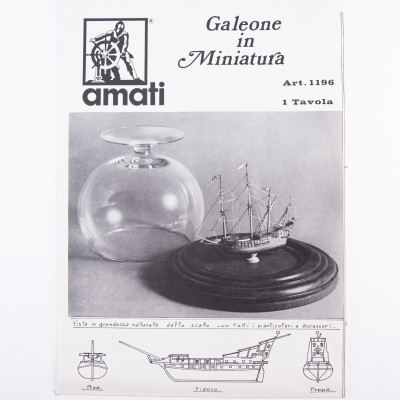 Galeón miniatura