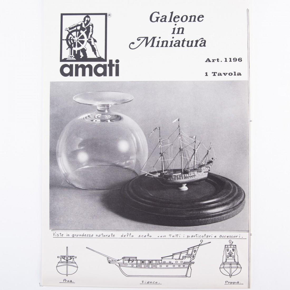 Miniature Galleon