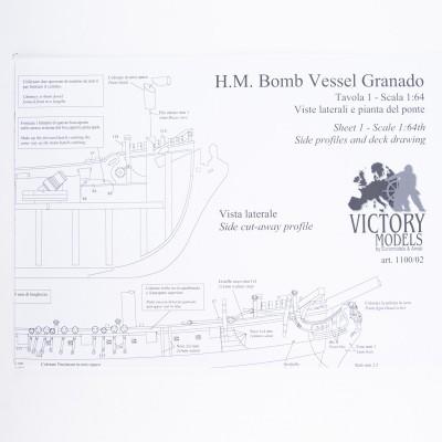 Piano costruzione Granado 1742