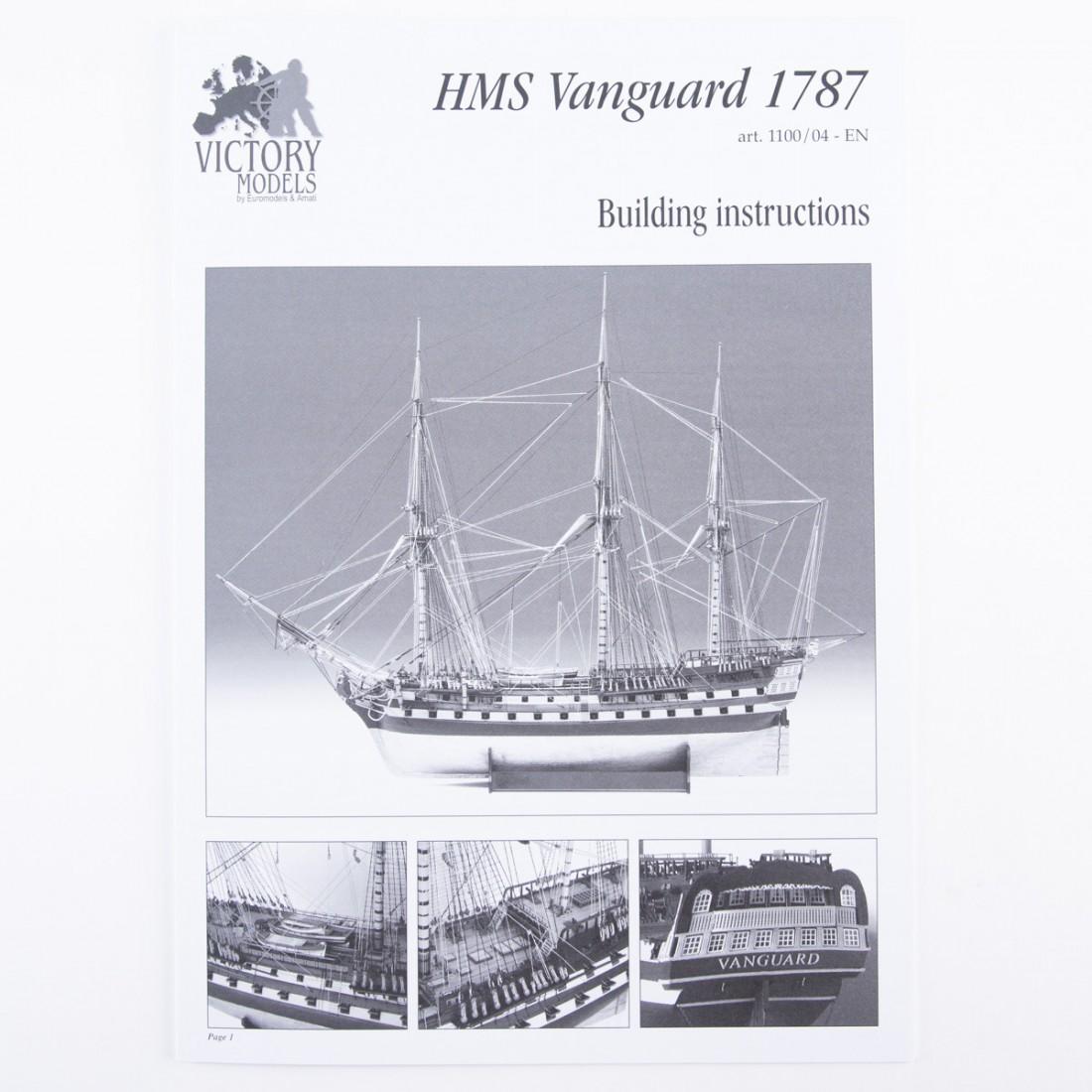 H.M.S. Vanguard 1787 Plan