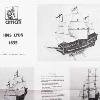 Lyon - Vaisseau 1635