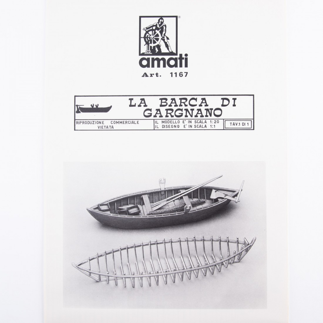 Piano costruzione Barca di Gargnano