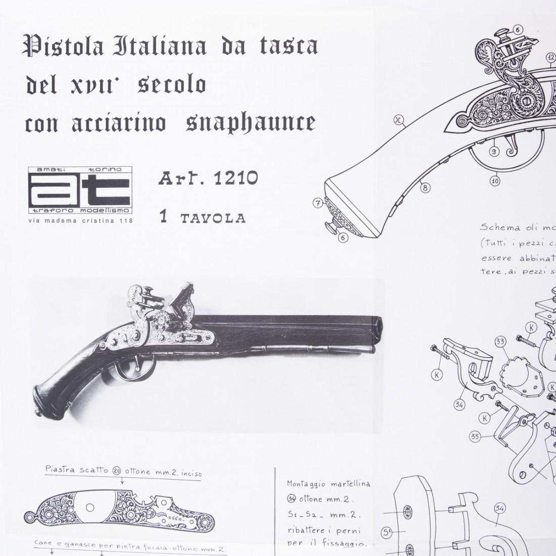 Piano costruzione Pistola da tasca