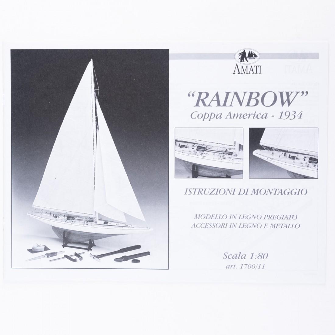 Piano costruzione Rainbow