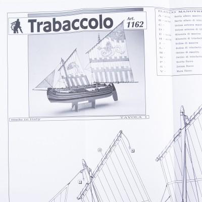 Piano costruzione Trabaccolo