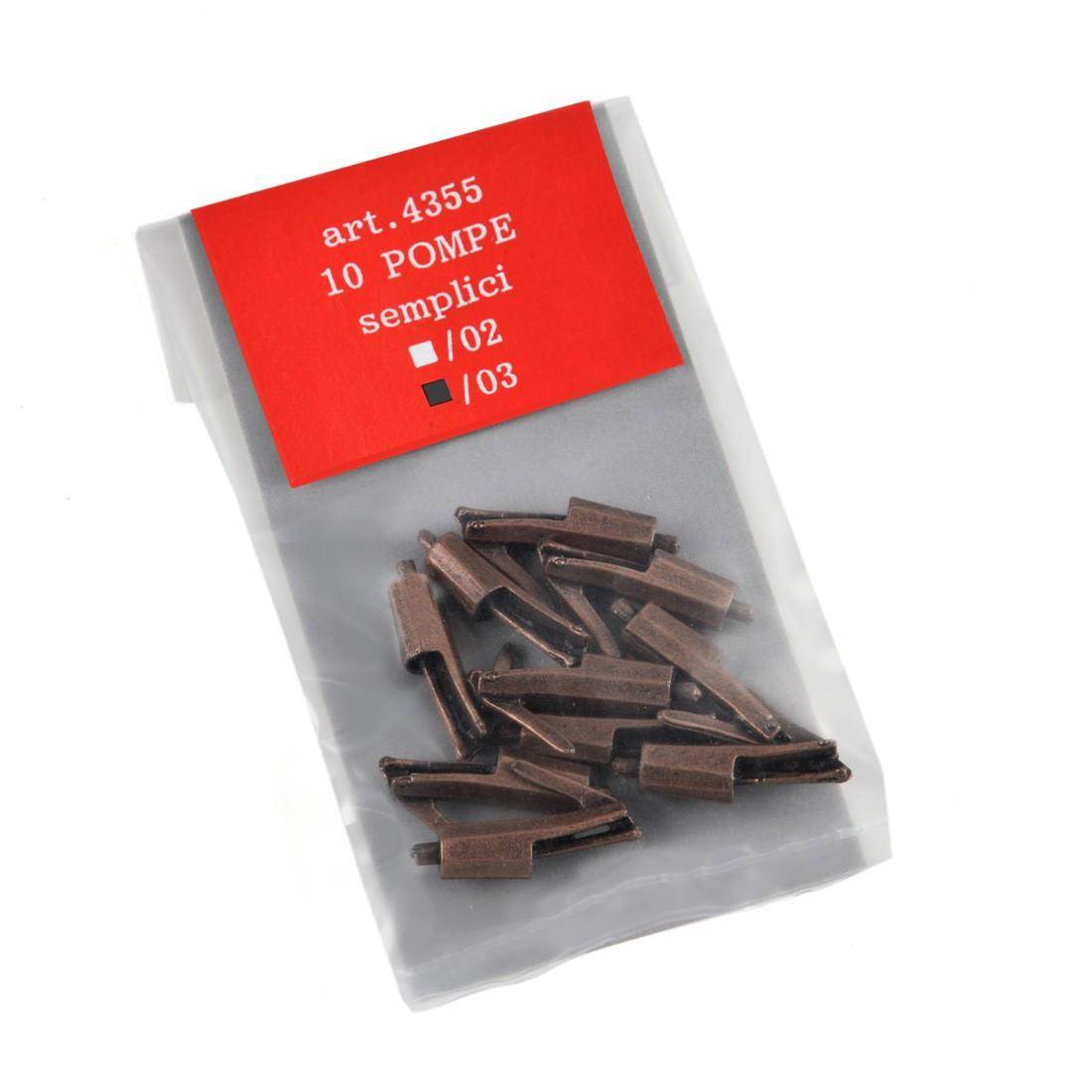 Pompes simple métal mm. 18