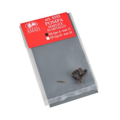 Pompes simple métal A mm. 11