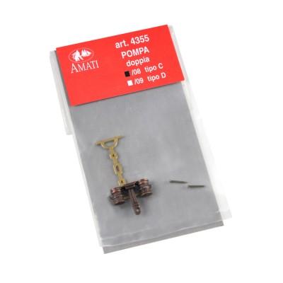 Pompes double métal C mm. 11