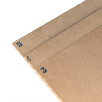 Birch plywood mm.4 cm. 50x38