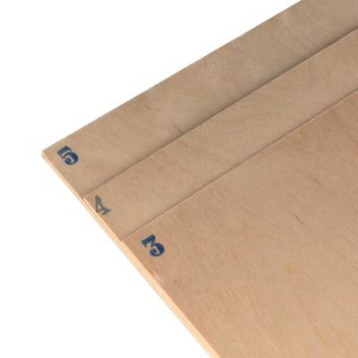 Birch plywood mm.4 cm. 50x38