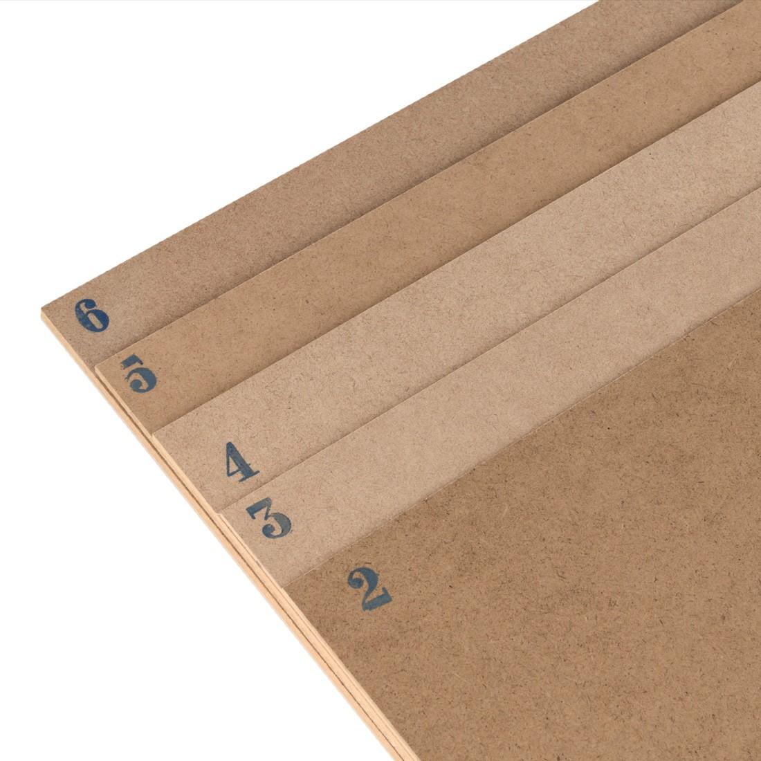 Planches en mdf cm.50x40-mm.3