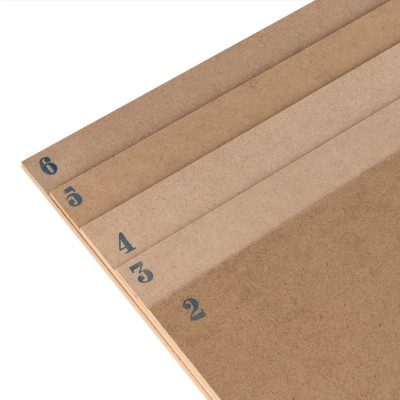 MDF sheet cm.50x40 mm. 4