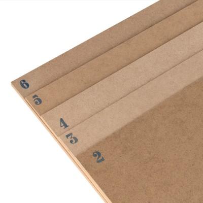 MDF sheet cm.50x40 mm. 6