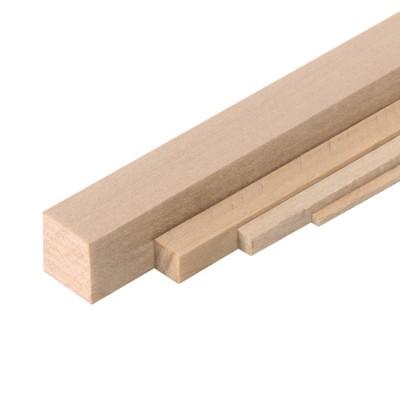 Tira de madera de leña mm.8x8