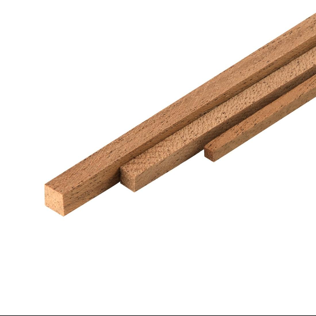 Listelli Dibetou mm.3x3x1000