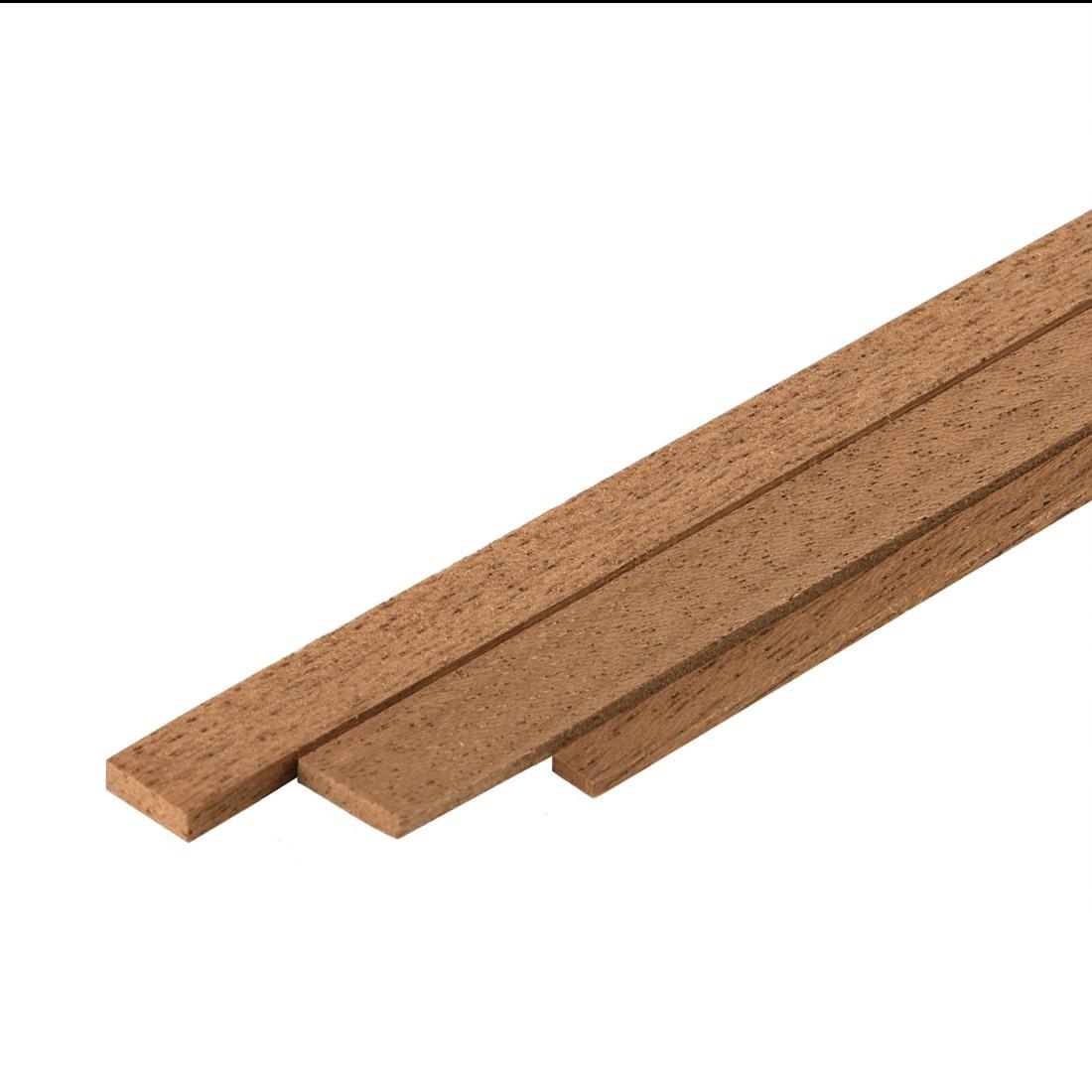 Listelli Dibetou mm.1x3x1000